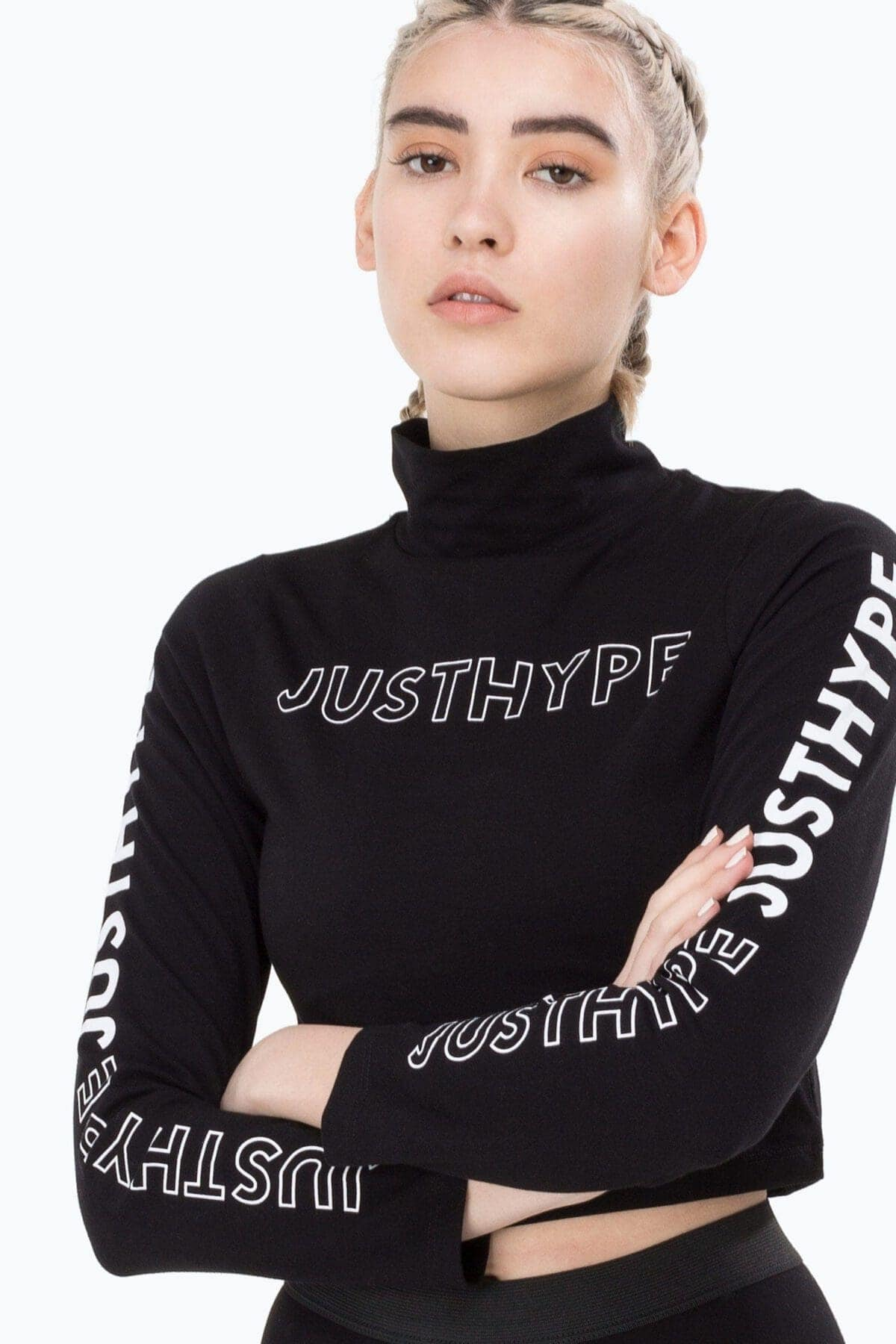 products-hype-blackwhite-high-neck-womens-ls-crop-top-hype-4-1200×1800