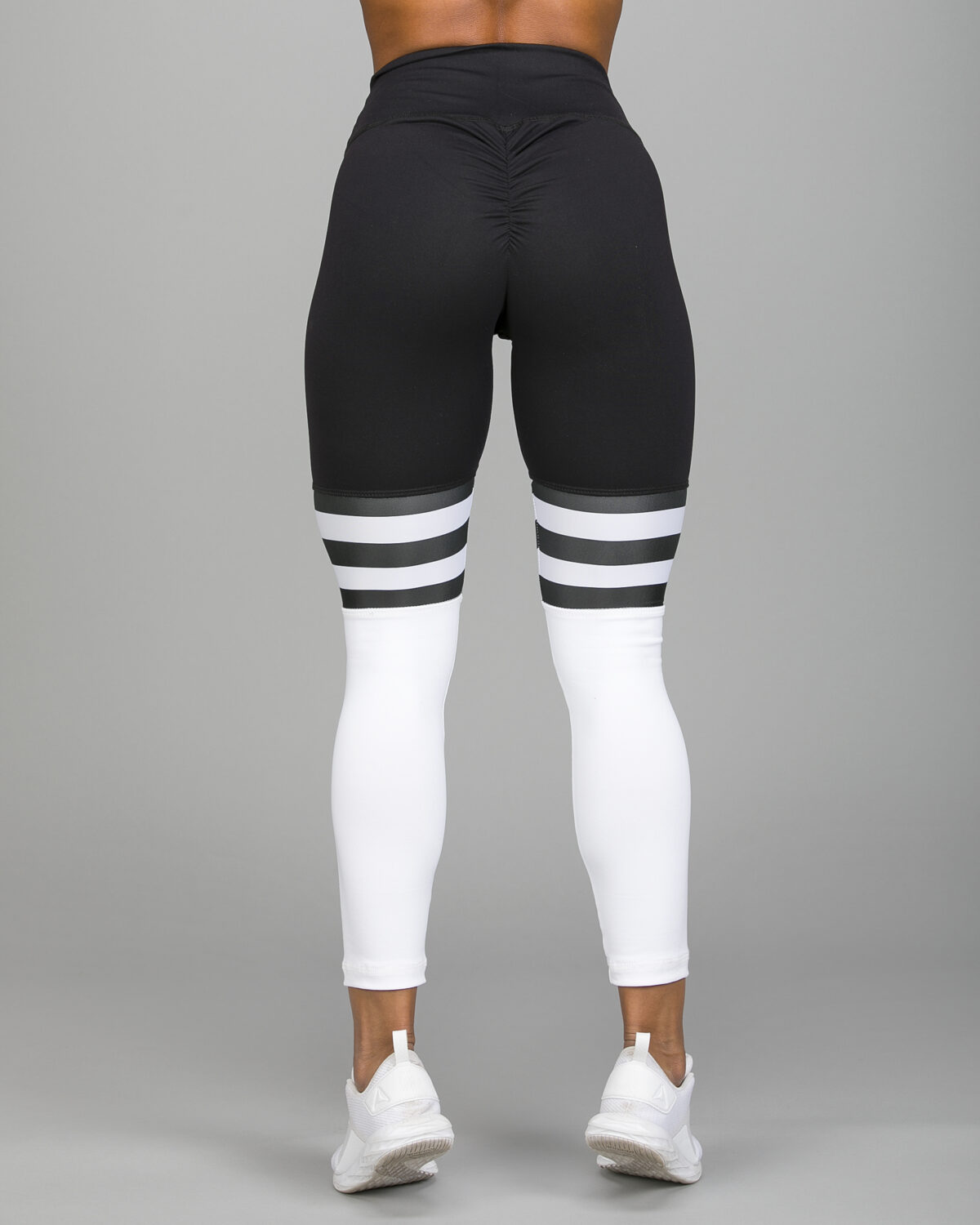 ABS2B-Fitness-High-Knee-Stripes-Black.White1_-1200×1500