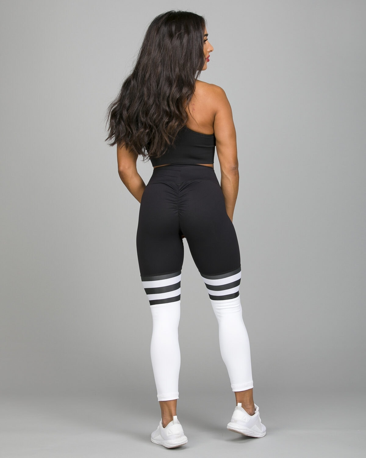 ABS2B-Fitness-High-Knee-Stripes-Black.White8_-1200×1500