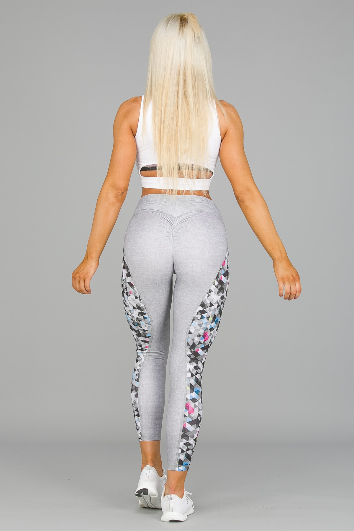 ABS2B Fitness Zero Flaw High Rise Leggings – Silver3