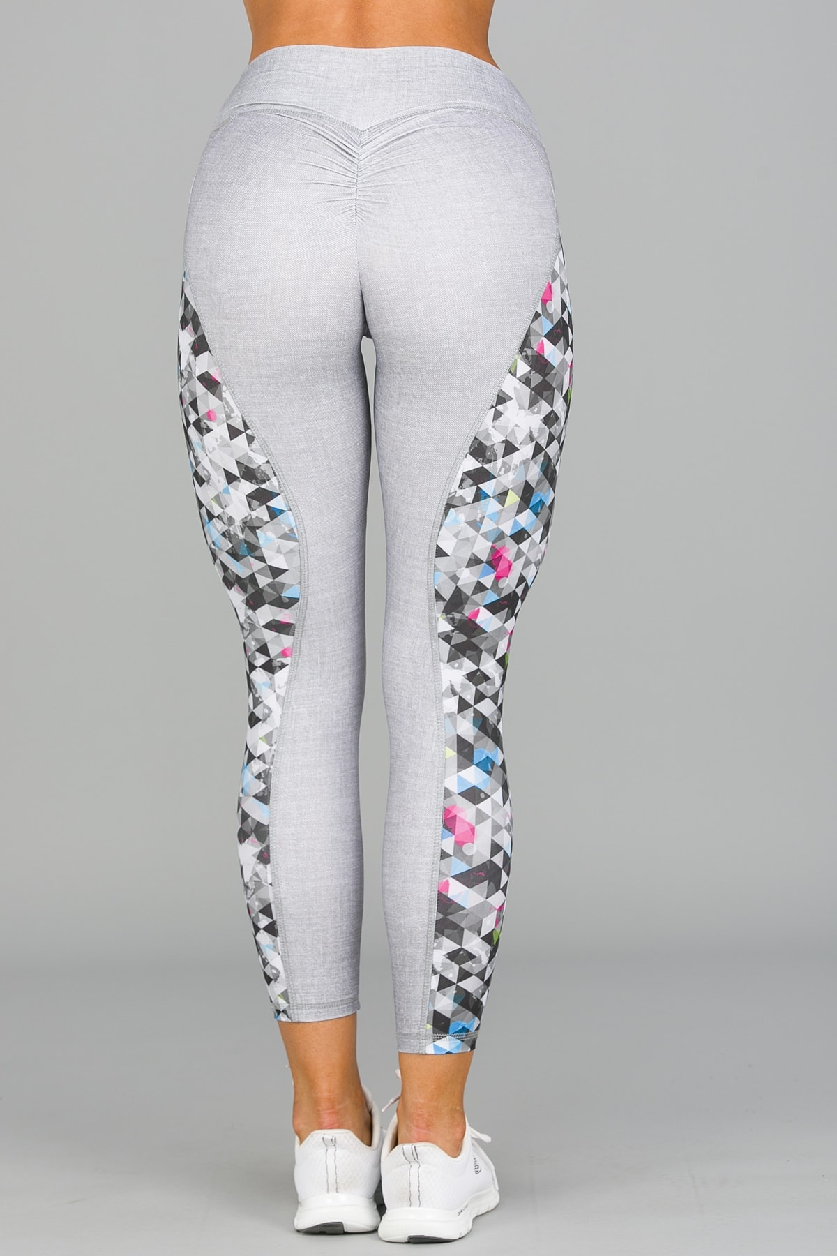 ABS2B Fitness Zero Flaw High Rise Leggings – Silver8