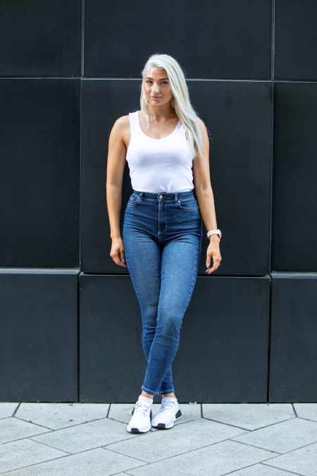 Stretch Jeans Dark Blue