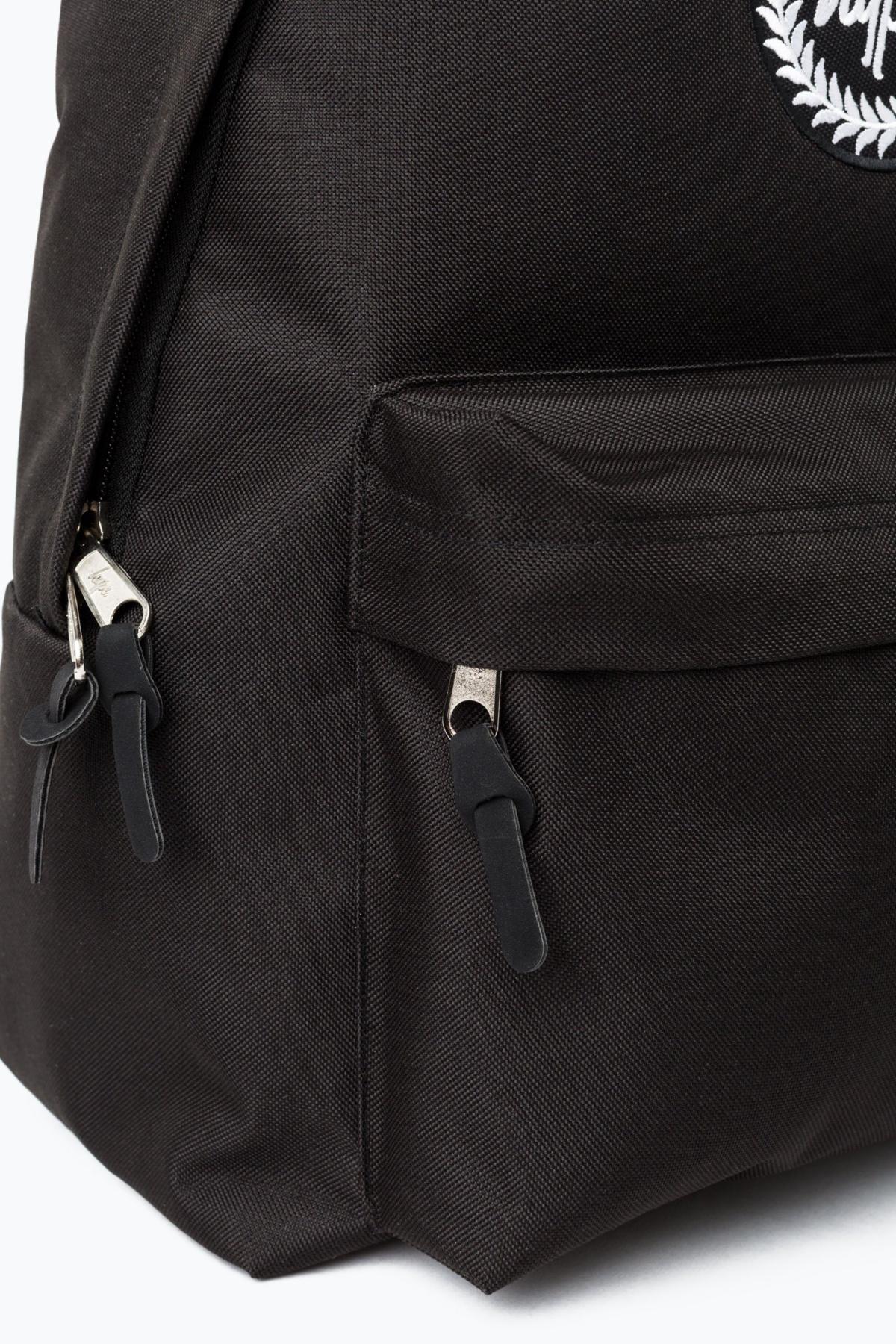 HYPE Black Strap Tape Backpack