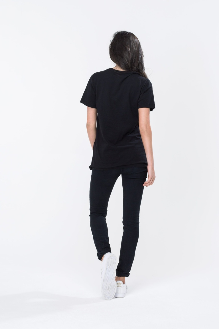 HYPE Black/White Hype Script Women's T-Shirt