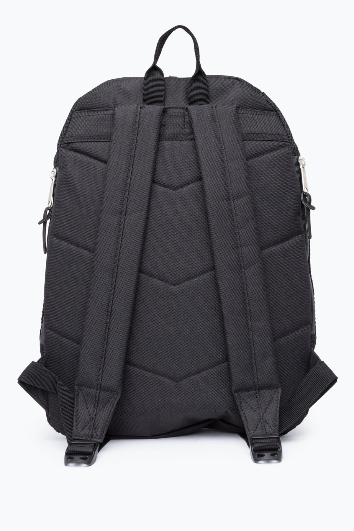 HYPE Black/White Mesh Backpack Sports