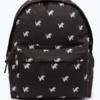 HYPE Black/White Script Repeat Backpack