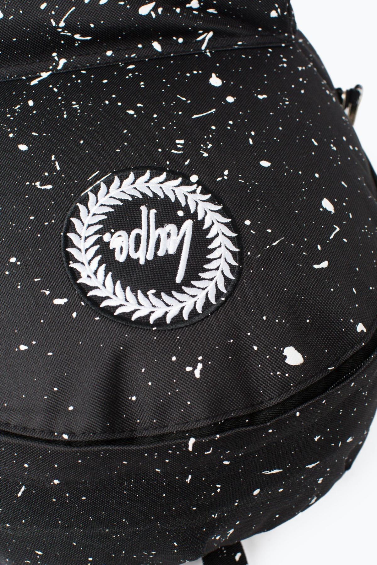 HYPE Black/White Speckle Backpack