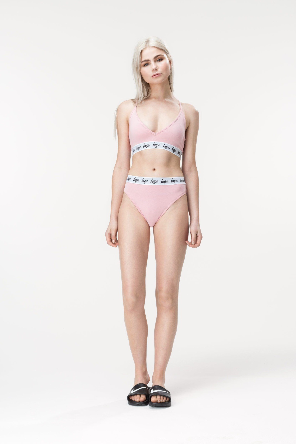 HYPE Dusty Pink Taped Women's Pant