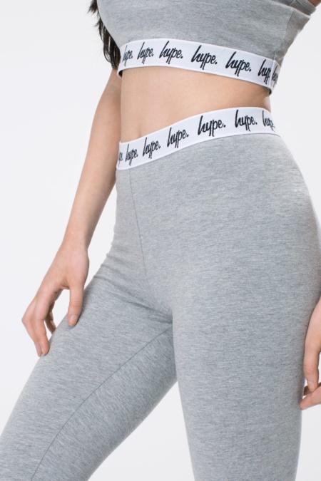 HYPE Grey Taped Women's Leggings