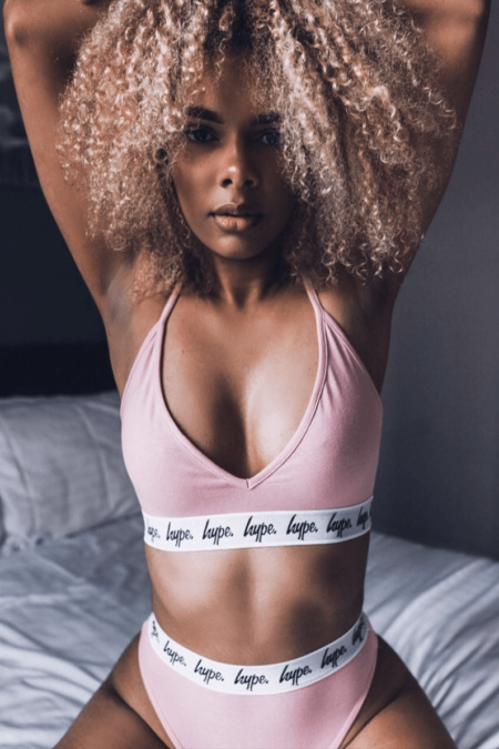 HYPE Pink Taped Women's Bra
