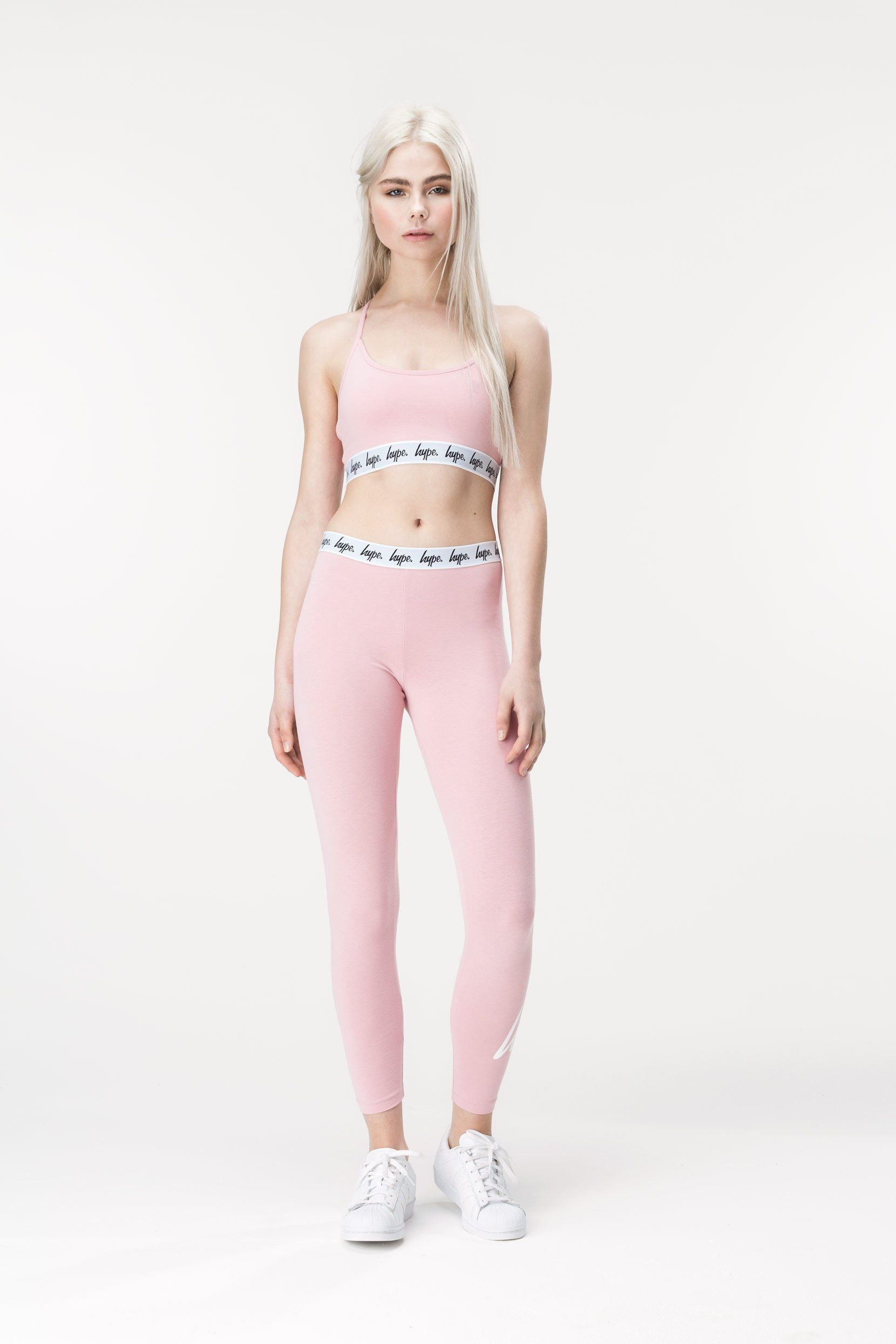 HYPE Pink Taped Women's Bralet