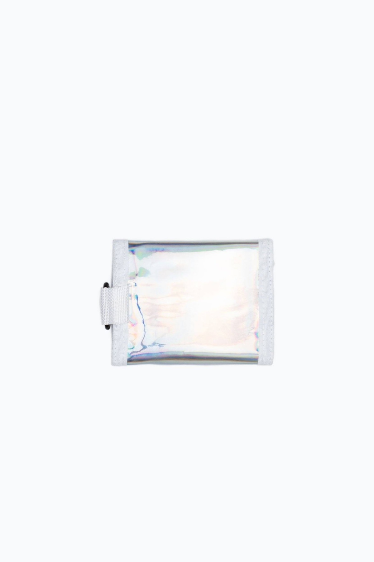 HYPE Silver Holographic Wallet