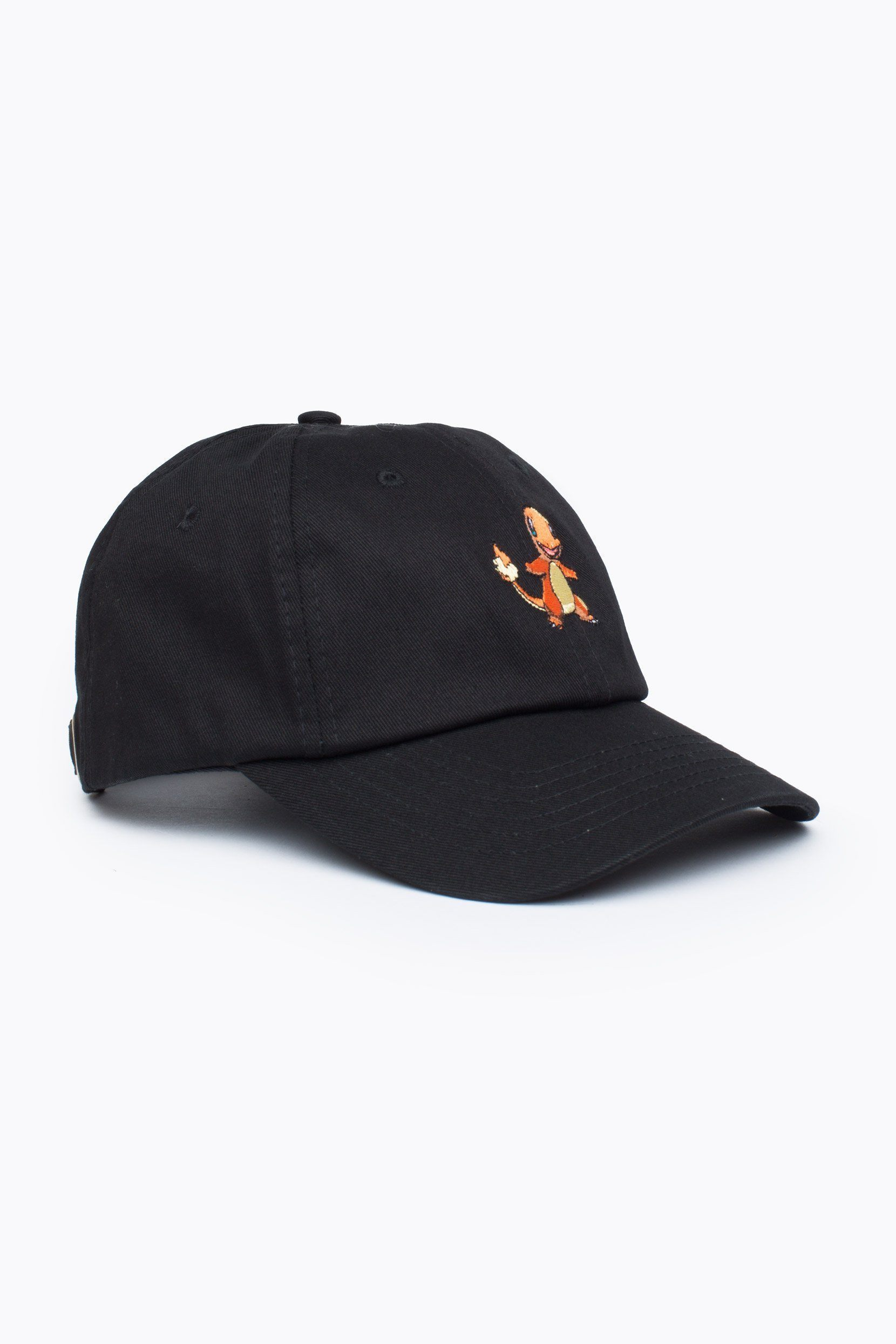 HYPE X Pokemon Black Charmander Dad Hat