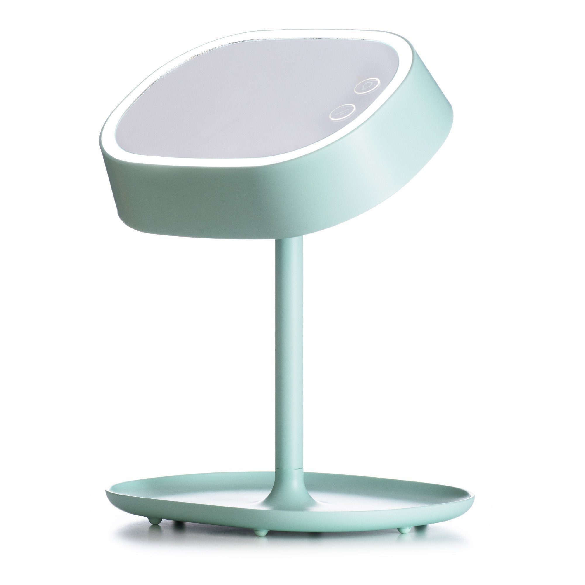 Lumipop – Vanity Lamp –  Vanity Mirror & Table Lamp – Pastel Green / Mint