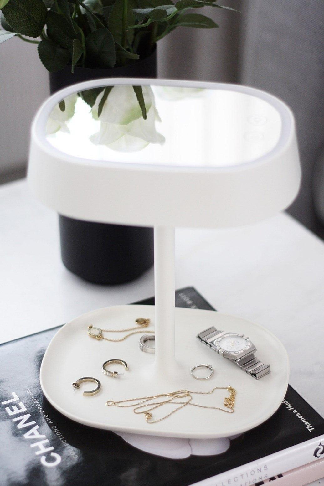 Lumipop – Vanity Lamp –  Vanity Mirror & Table Lamp – Pastel Pink