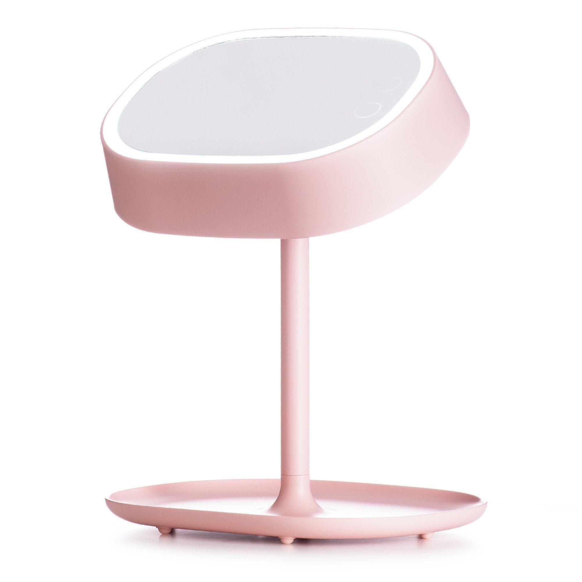 Lumipop Vanity Lamp Vanity Mirror & Table Lamp Pastel Pink