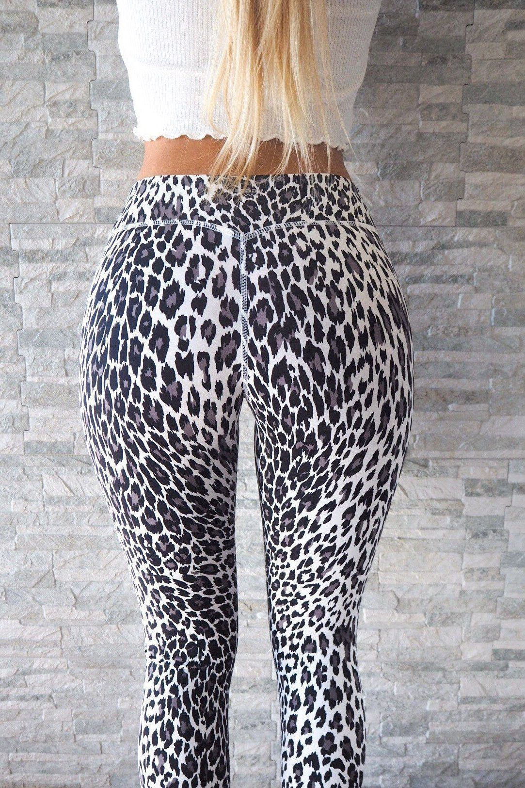 Superfit Ankle Tights Snow Leopard