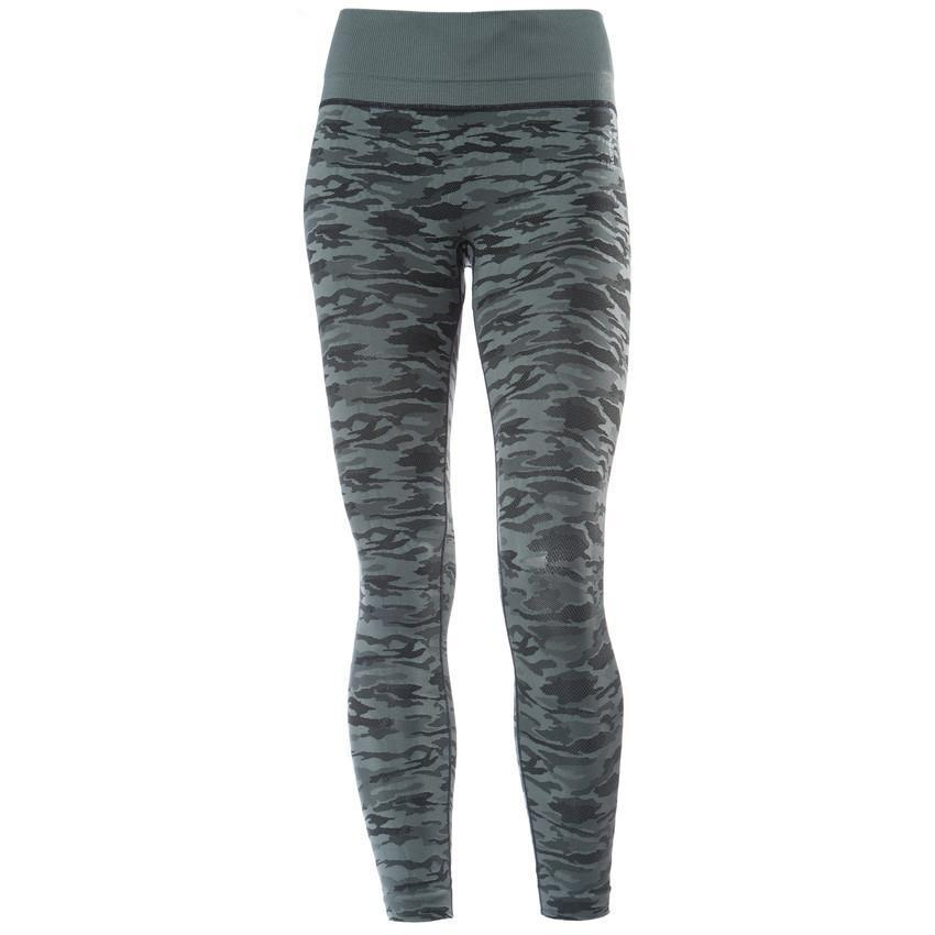 Superfit Seamless Ankle Tights Grey Camo