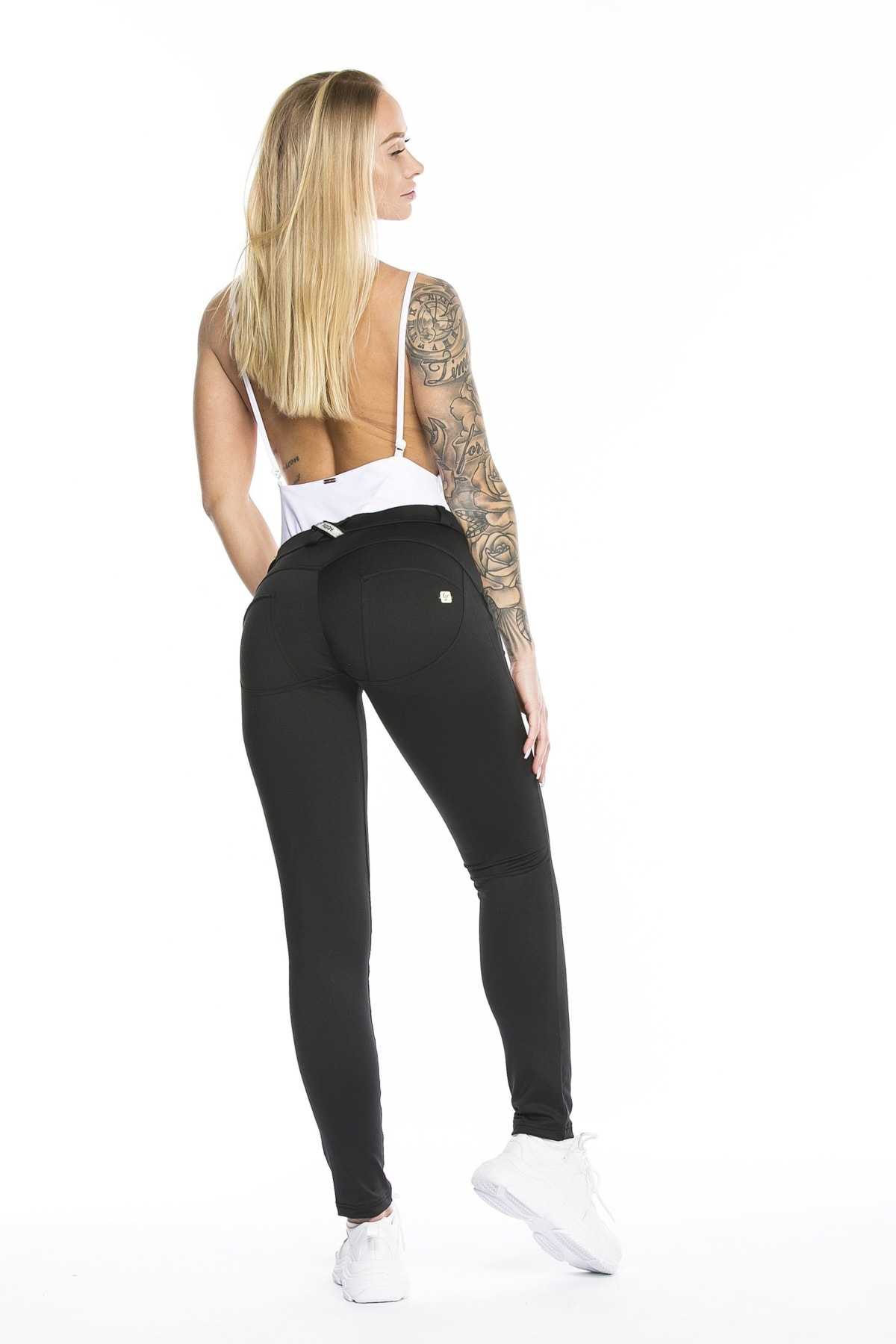 WR.UP® DIWO Shaping Pants Skinny Mid Waist Black