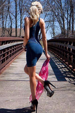 WR.UP® Shaping Dress Denim Dark Blue