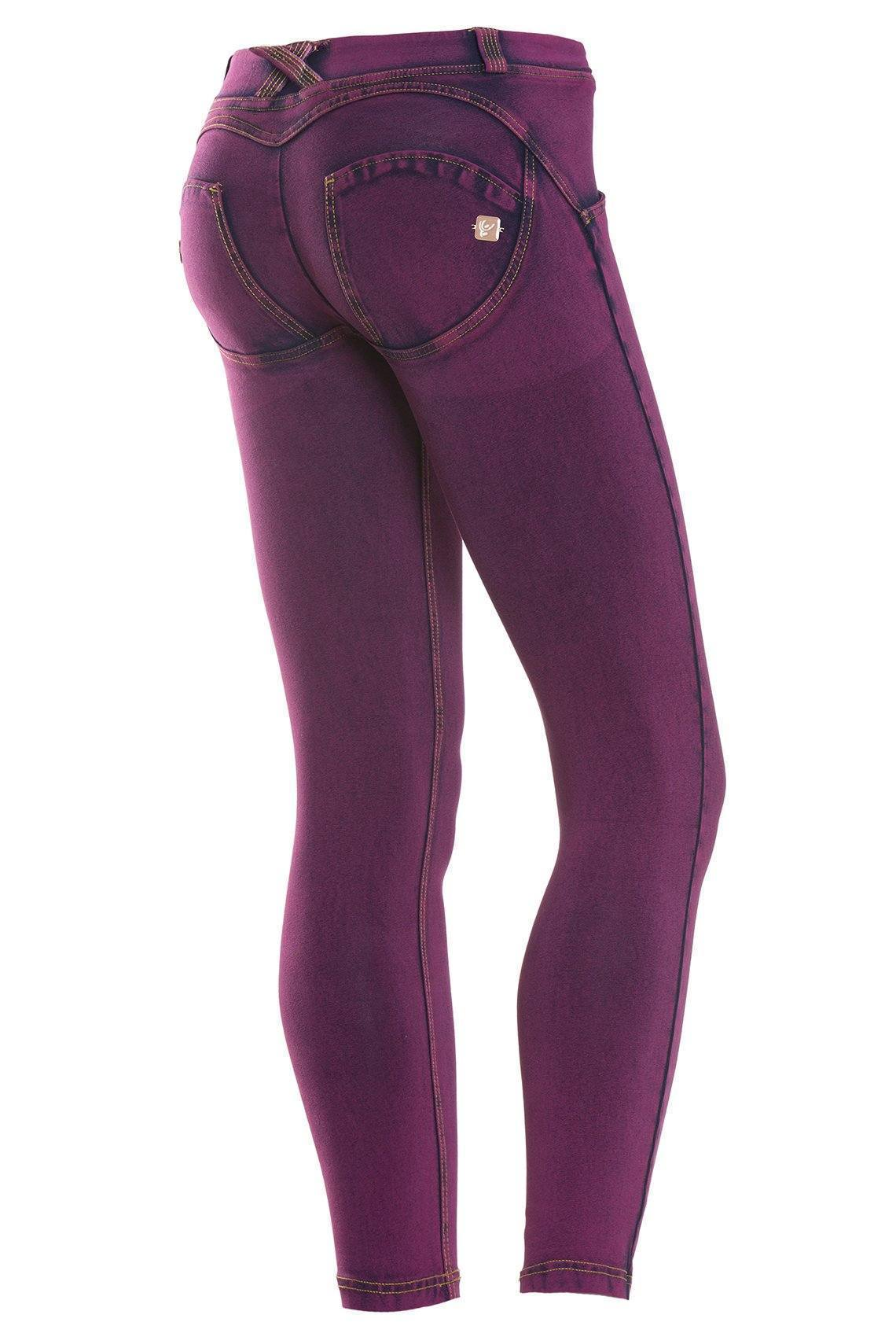 WR.UP® Shaping Jeans Petite Low Dark Purple