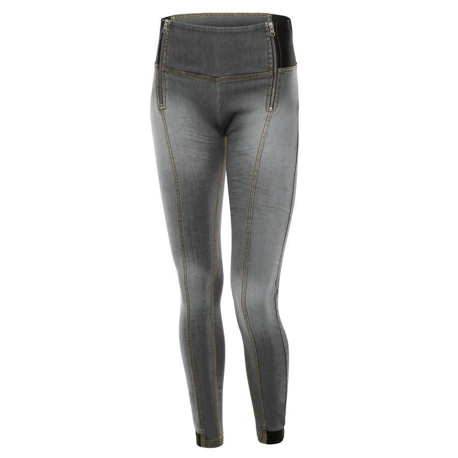 WR.UP® Shaping Jeans Skinny High Grey + Front Zip