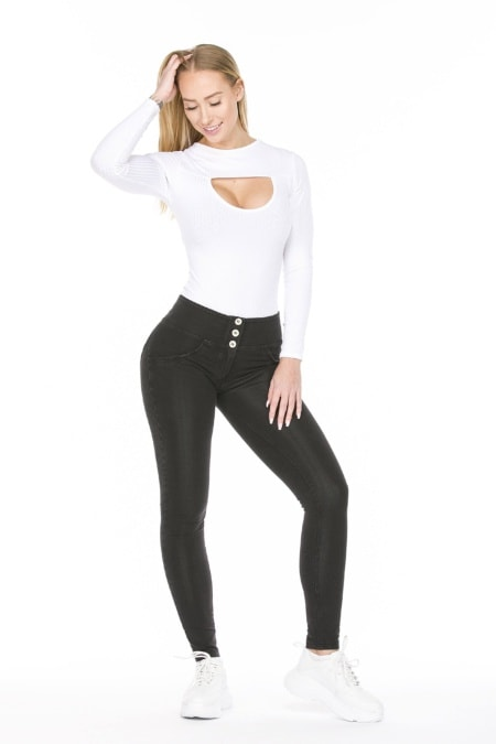 WR.UP® Shaping Jeans Skinny High Waist Black