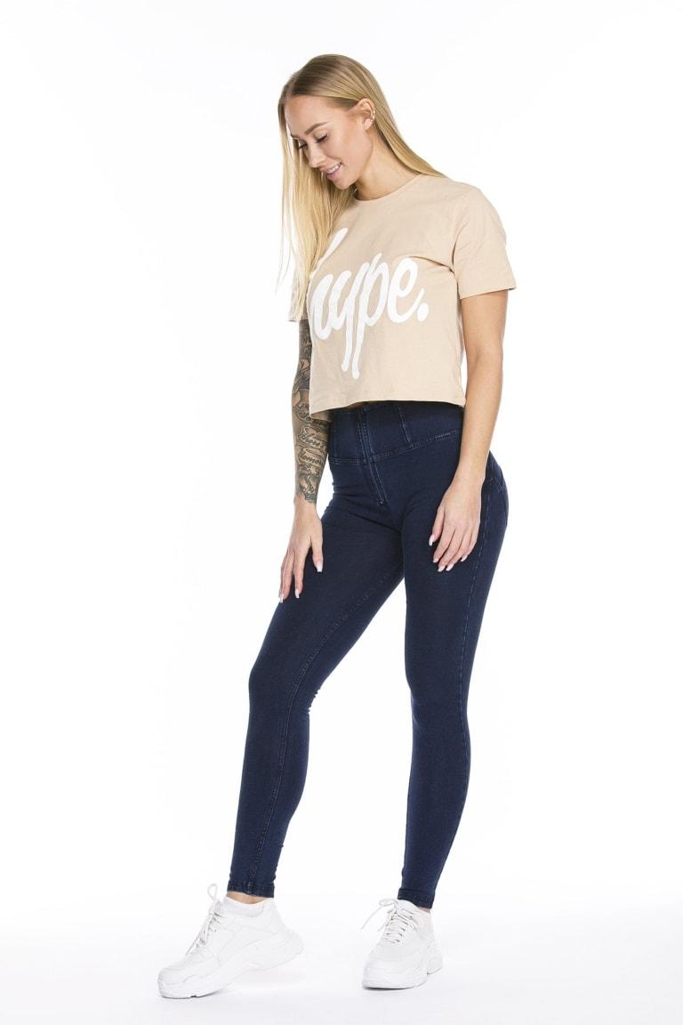 WR.UP® Shaping Jeans Skinny High Waist Dark Blue