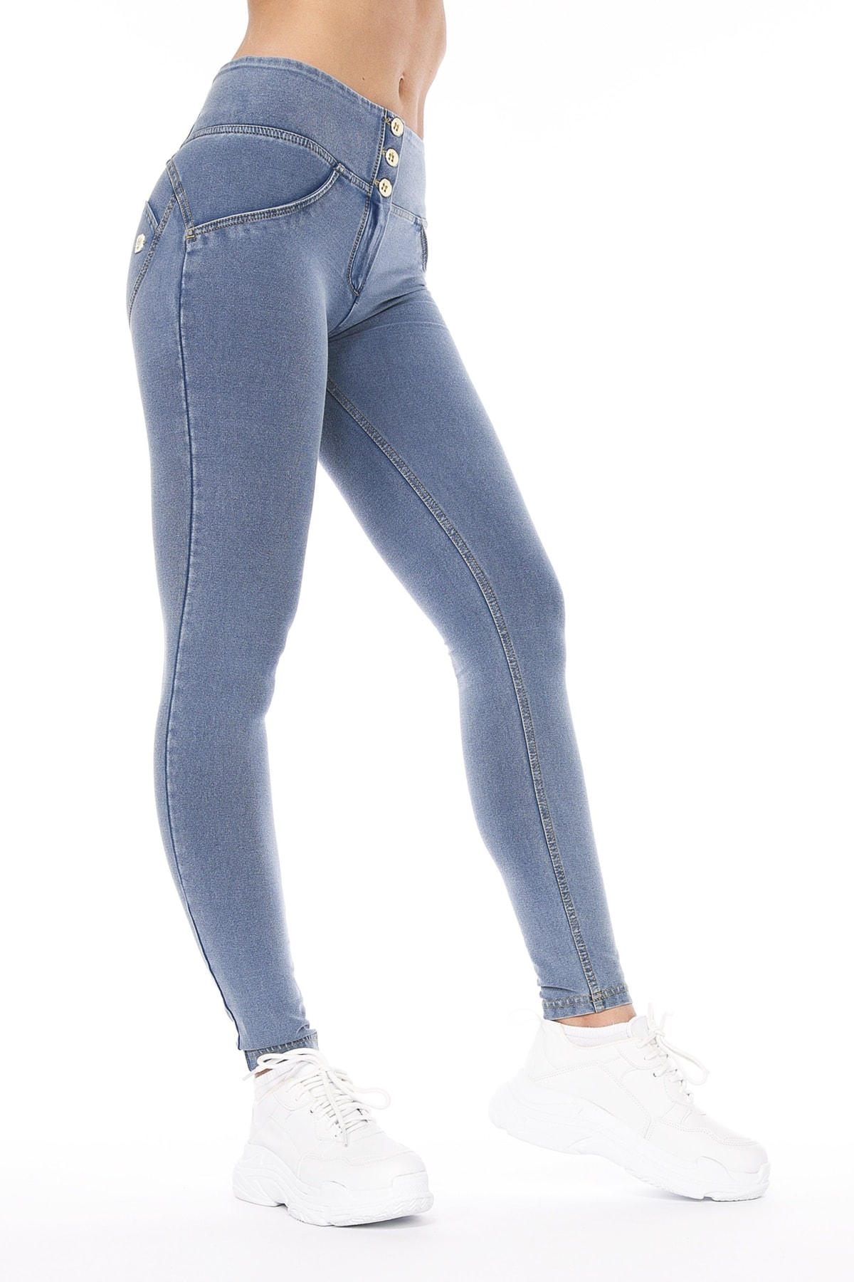 WR.UP® Shaping Jeans Skinny High Waist Light Blue