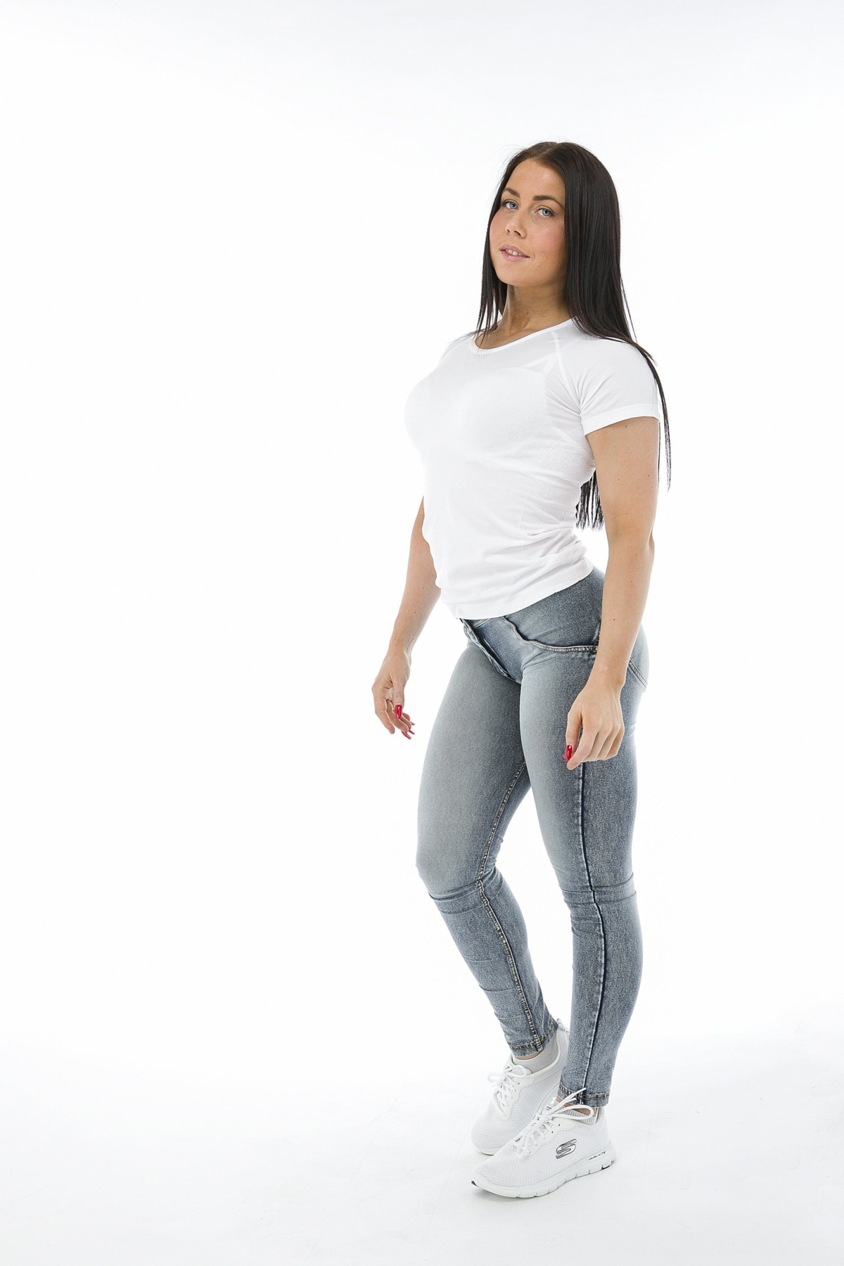 WR.UP® Shaping Jeans Skinny Mid Acid Wash