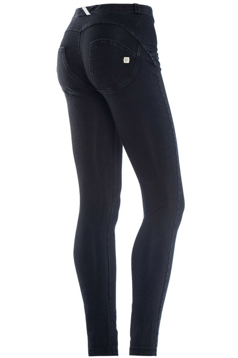 WR.UP® Shaping Jeans Skinny Mid Black