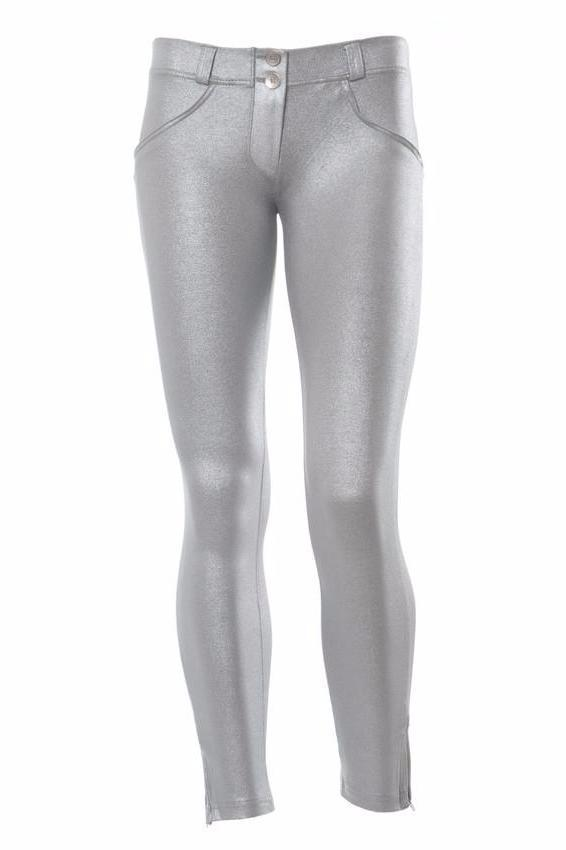 WR.UP® Shaping pants Ankle Zip Low Silver