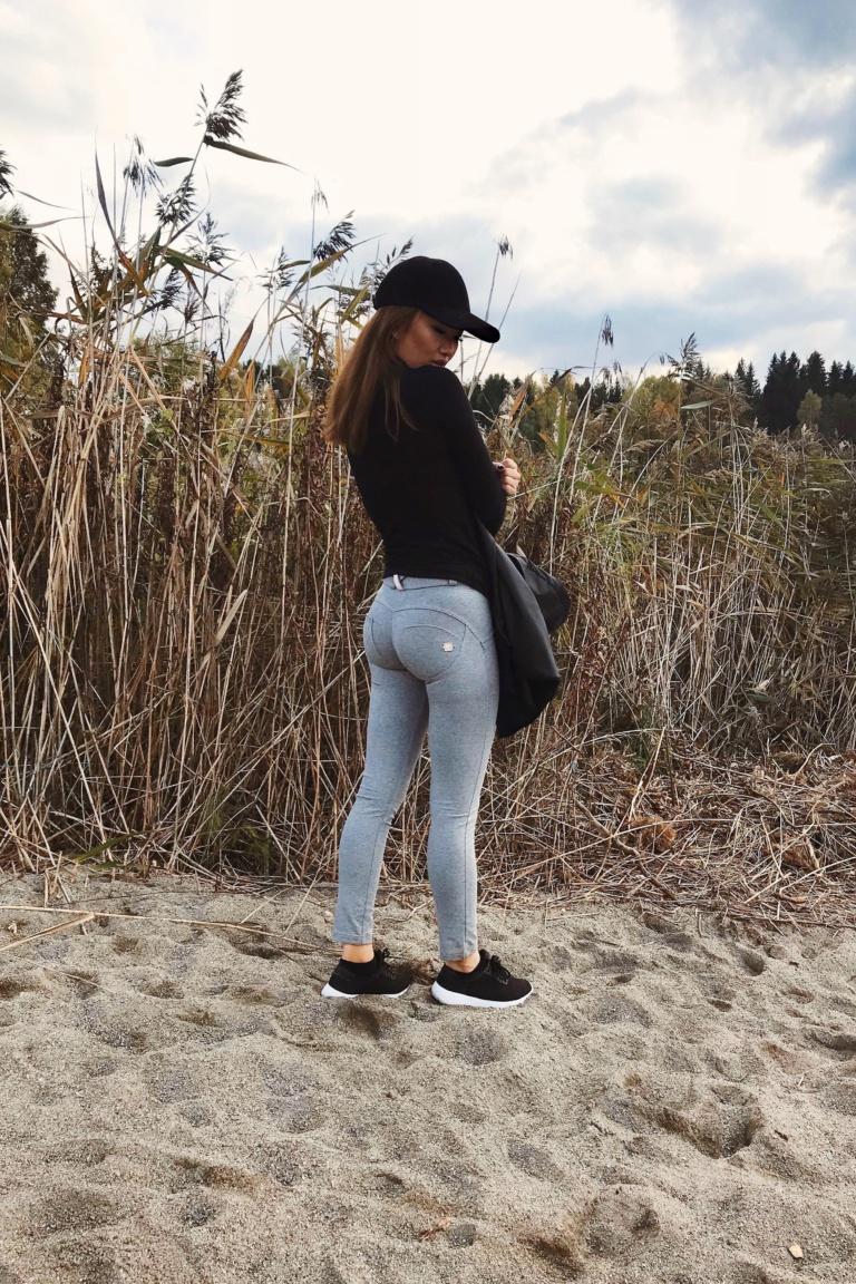 WR.UP® Shaping Pants Petite Low Melange Grey