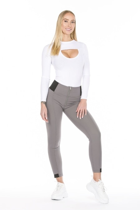 WR.UP® Shaping Pants Skinny High Beauty Effect Grey