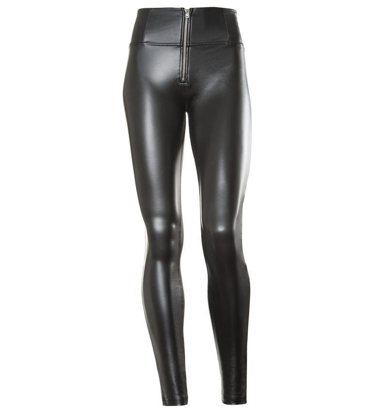 WR.UP® Shaping Pants Skinny High Vegan Leather Black