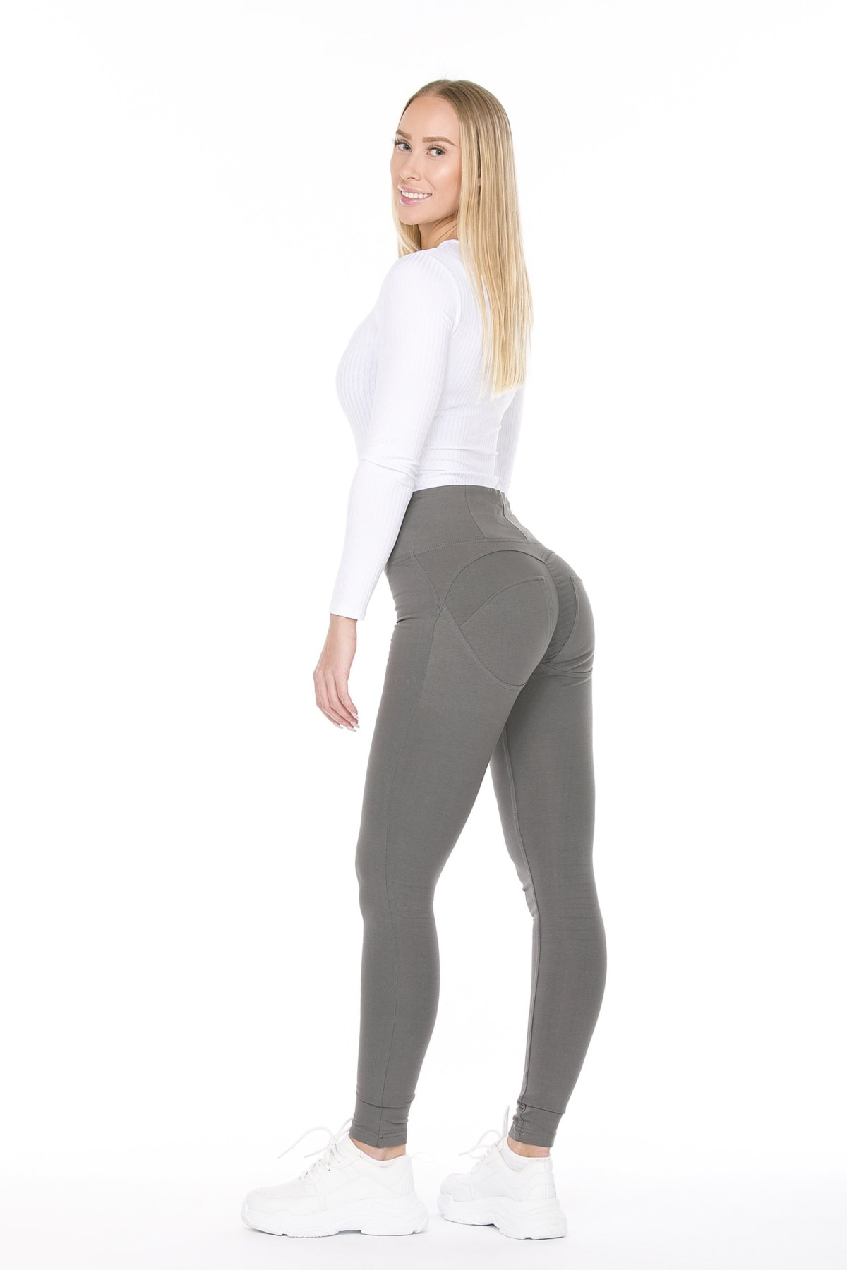 WR.UP® Shaping Pants Skinny High Waist Grey