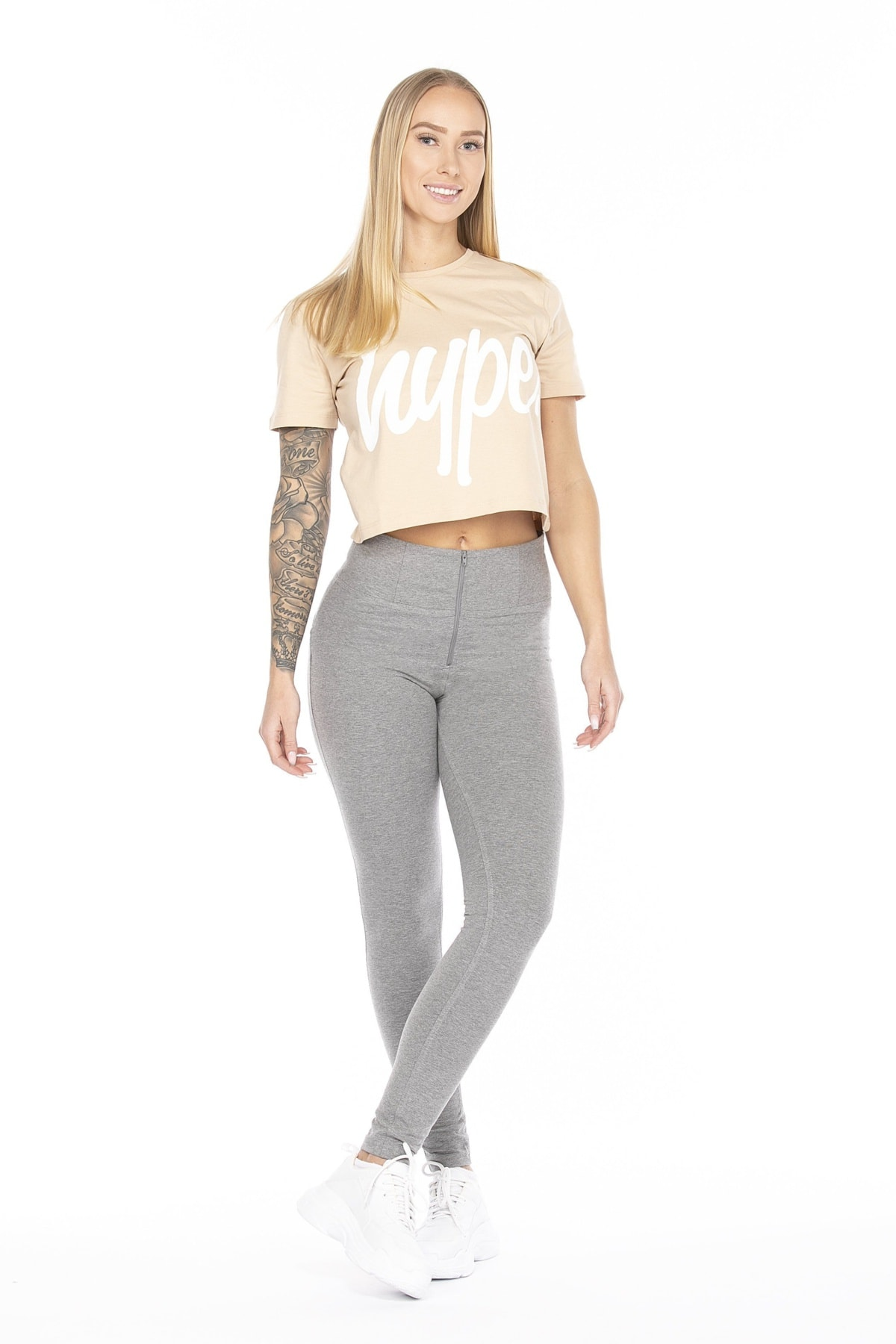 WR.UP® Shaping Pants Skinny High Waist Grey Melange