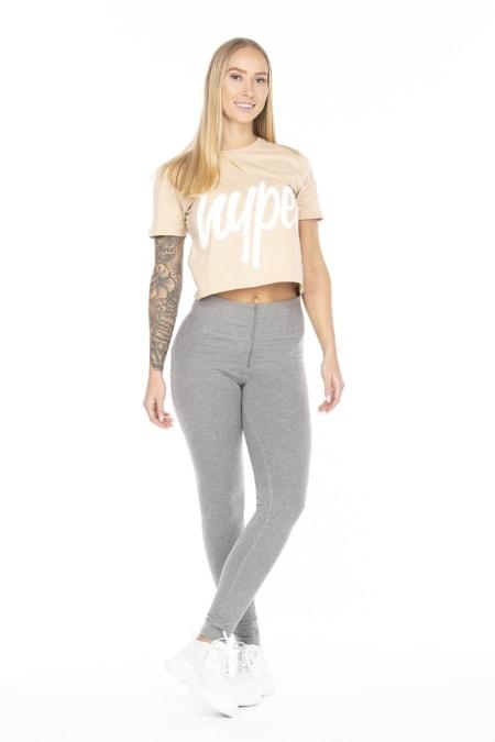 WR.UP® Shaping Pants Skinny High Waist Grey Melange