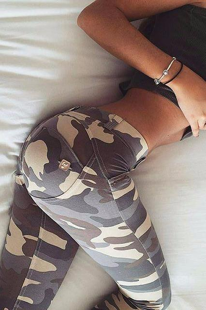 WR.UP® Shaping Pants Skinny Low Desert Camo