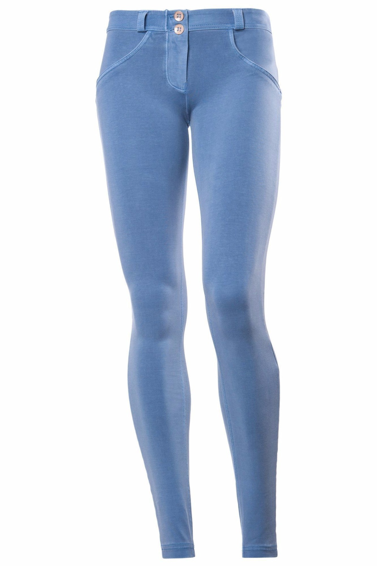 WR.UP® Shaping Pants Skinny Low Faded Blue