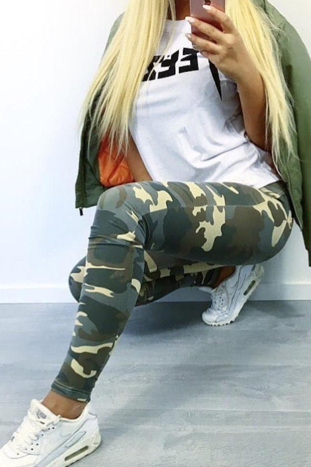 WR.UP® Shaping Pants Skinny Mid Desert Camo