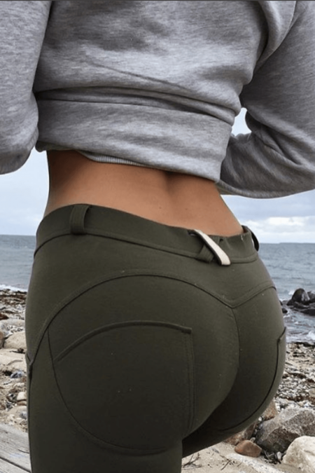 WR.UP® Shaping Pants Skinny Mid Khaki Green