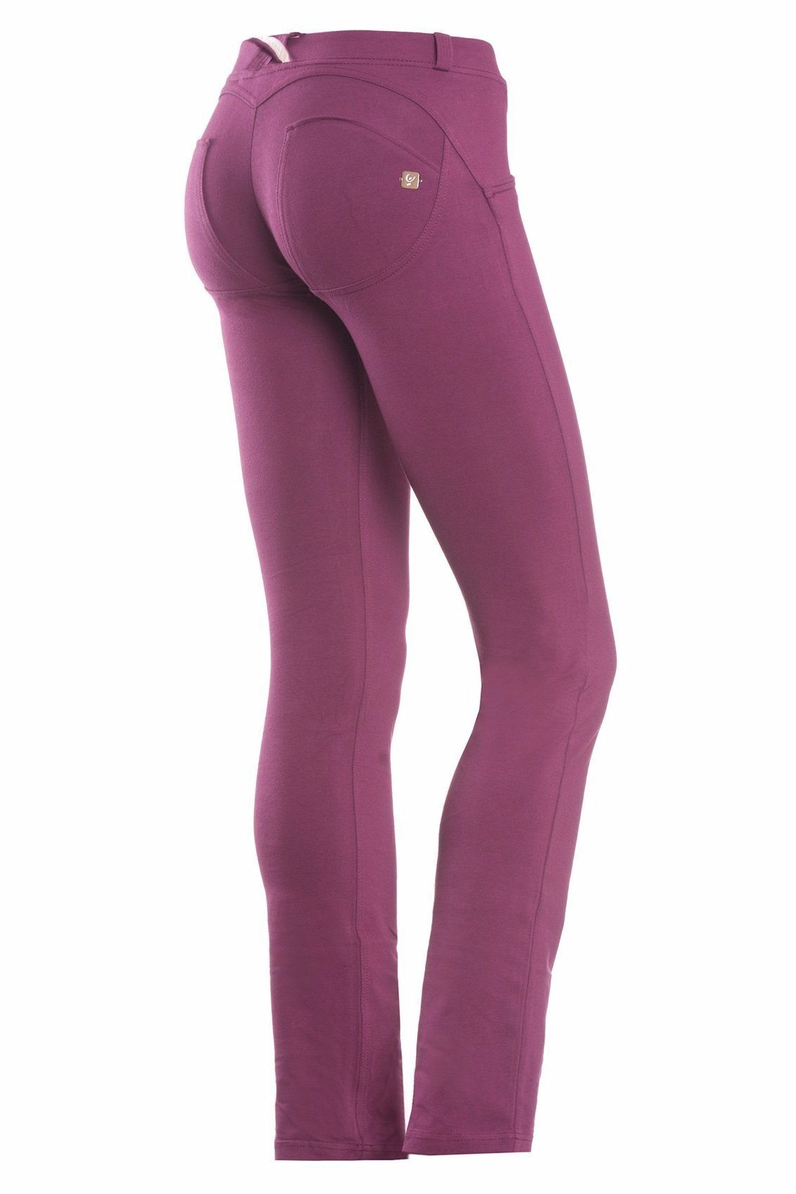 WR.UP® Shaping Pants Straight Low Burgundy