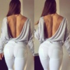 WR.UP® Shaping Pants Super Skinny Beauty Effect Mid White